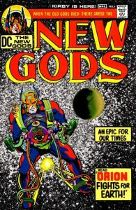 Jack Kirby introduces the New Gods to the World