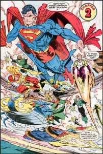 Early DC work by Todd McFarlane