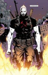 It's not Bloodshot, it's Komandar Bloodshot