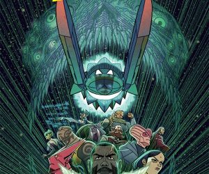 The cover of Outer Darkness #1 by Afu Chan