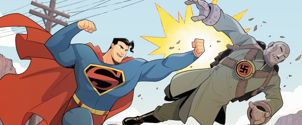 Superman-Smashes-the-Klan-Banner